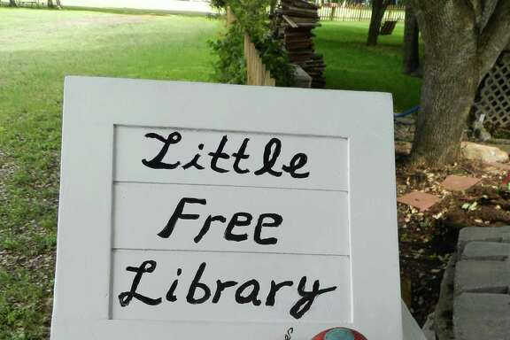 Christa Neumann and her husband, Mark Gibson, who live in Pflugerville, were quick converts to the Little Free Library concept. Here s how it works: You take a sturdy, waterproof small structure, fill it with books, set it up outside, add a sign ( take a book, leave a book  is popular) and watch what happens.