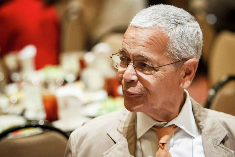 """We have never wished out way to freedom,"" said Julian Bond. ""Instead, we have always worked our way."" Photo: Michael Paulsen / © 2012 Houston Chronicle"