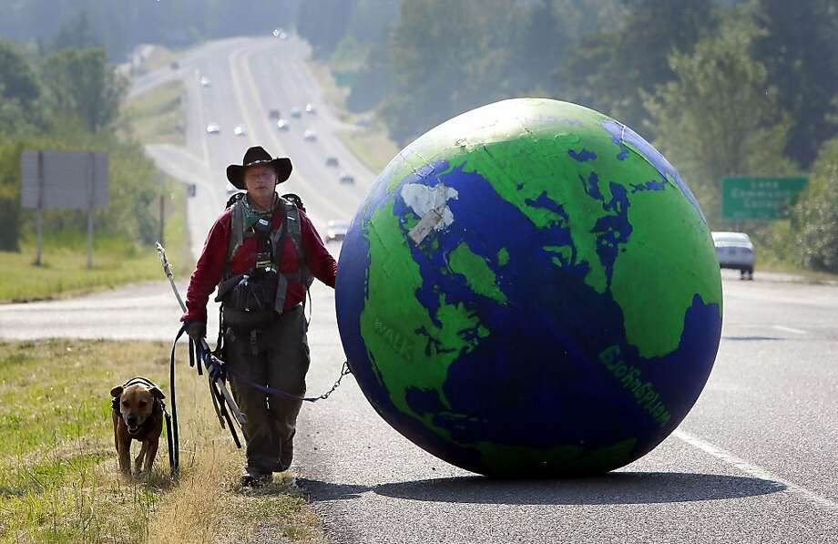 It's a small world, after all: Erik Bendl, a.k.a. WorldGuy, has 