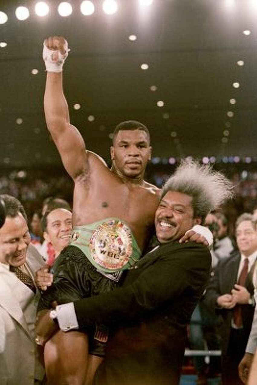 Boxer Mike Tyson. (AP)