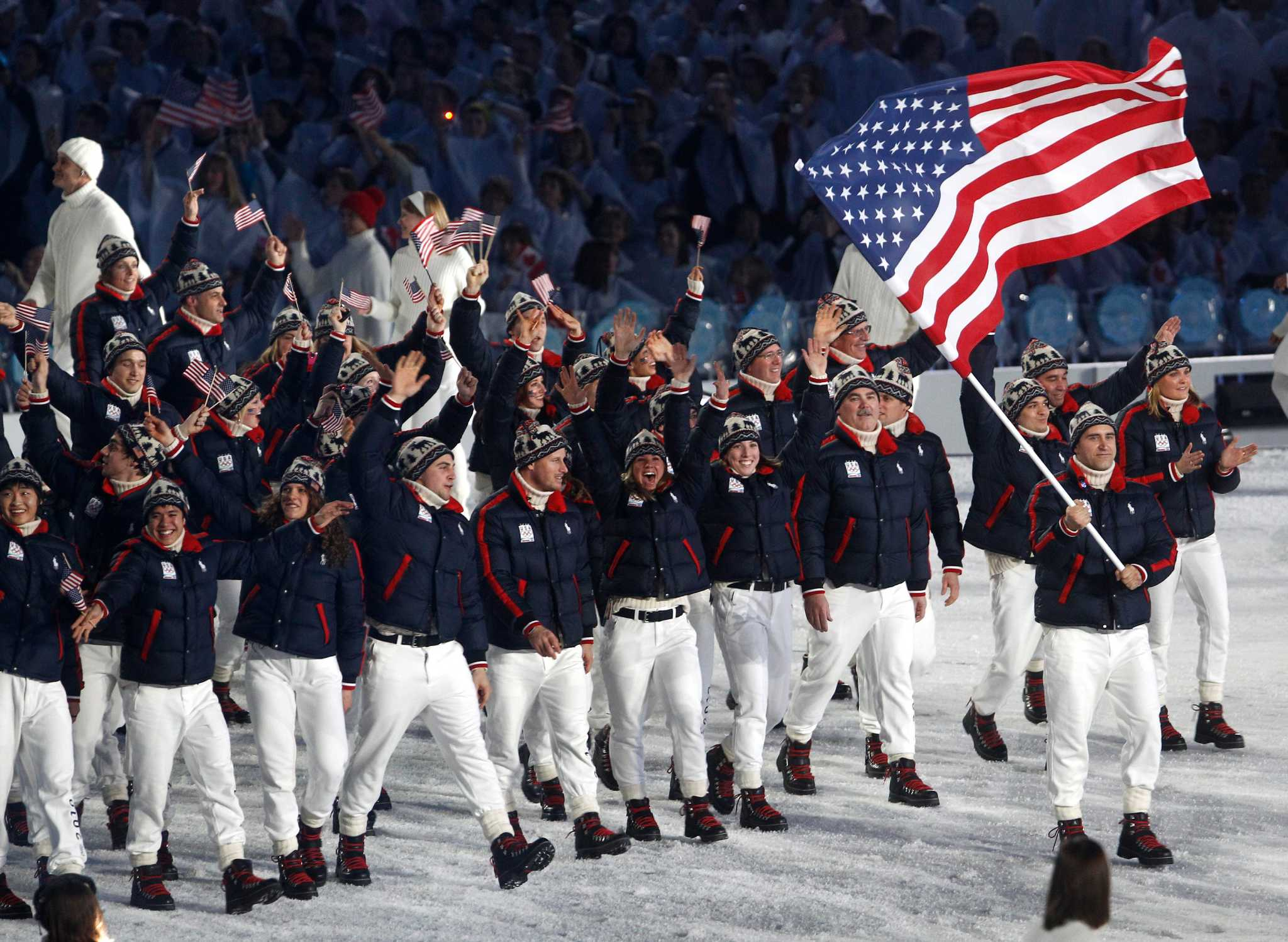 U S Olympic Uniforms Through The Years Good Bad And