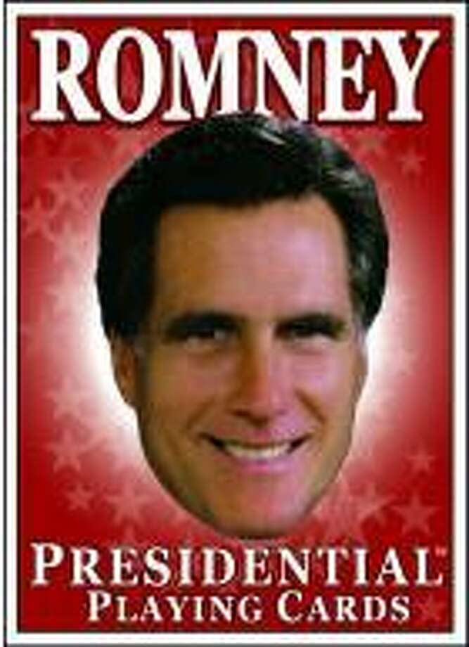 Box from the Romney Presidential Playing Cards. Photo: .