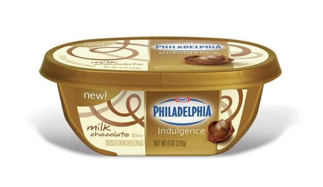 Kraft Foods has introduced Philadelphia Indulgence, a combination of cream cheese and chocolate. The spread comes in three varieties: milk, dark and white chocolate. Photo: Unknown
