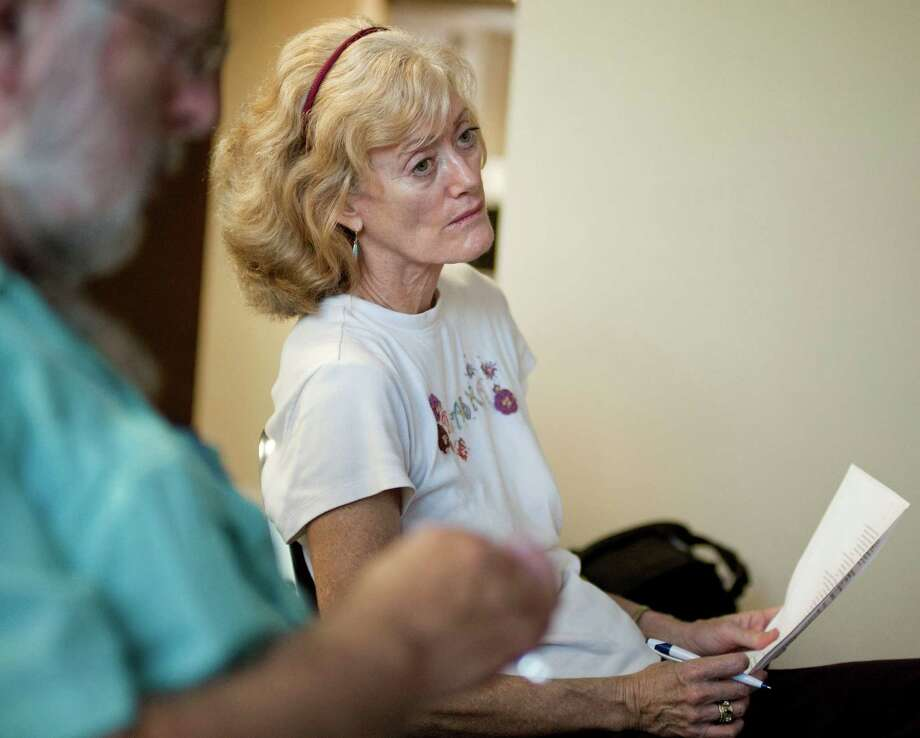 Margaret Walmer sits in an OASIS class about health insurance, Monday, July 2, 2012, at Morningside Manor nursing home in San Antonio. Photo: Darren Abate, Darren Abate/for The Express-News
