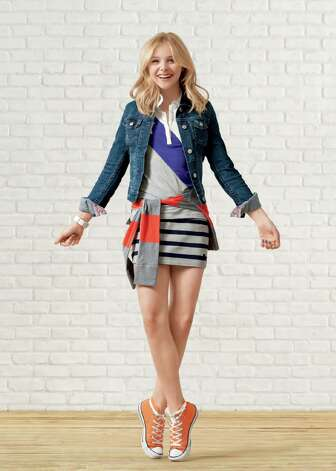 Chloë Moretz will be featured in advertisements for Aeropostale. Photo: HOEP / Aeropostale