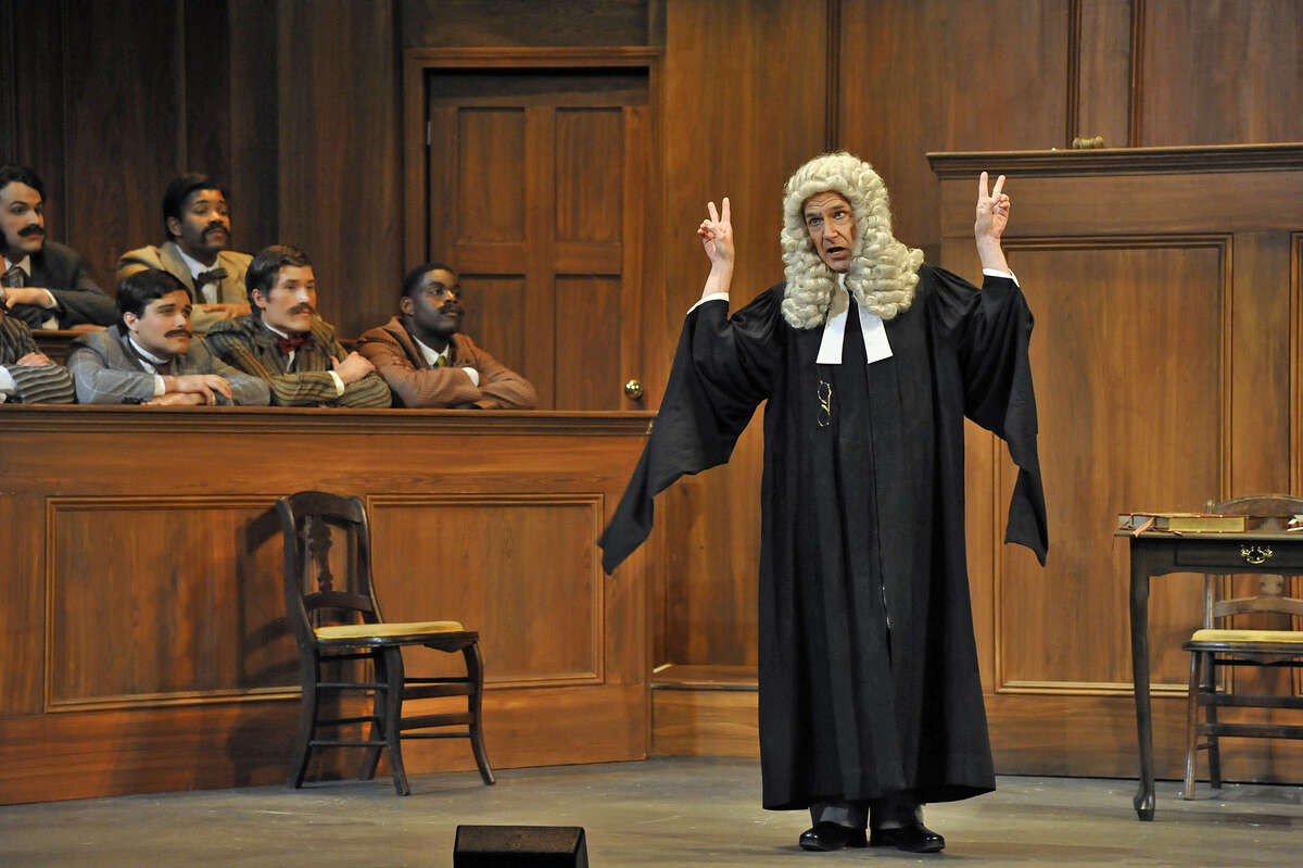 """Stephen Quint as The Learned Judge in Gilbert & Sullivan's """"Trial by Jury"""" (Gary Gold Photography)"""