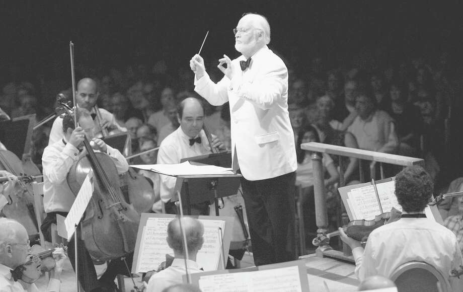 TIMES UNION ARCHIVE JOHN WILLIAMS will be among the conductors for the Tanglewood 75th Anniversary Celebration at 8:30 p.m. Saturday in Lenox, Mass.