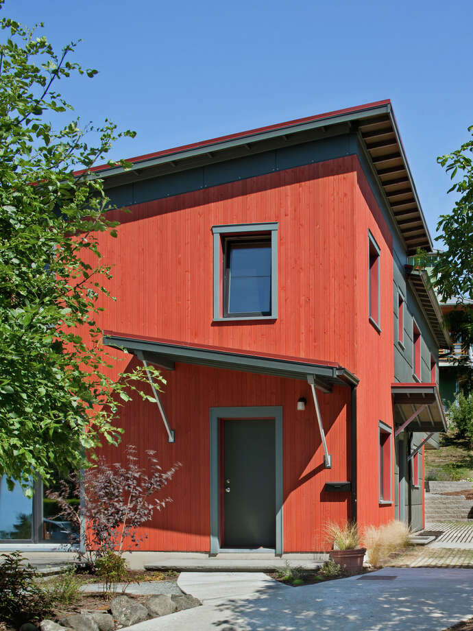 Hammer & Hand's Passive House in Seattle's Rainier Valley. Photo: Ed Sozinho/Sozinho Imagery/Court