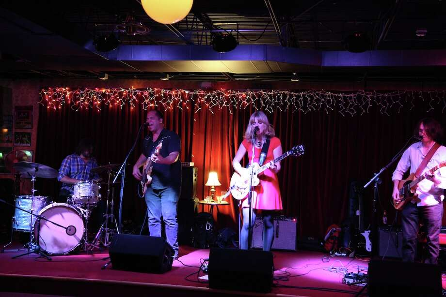Suzanna Choffel singing with her band at Luna. Photo: XELINA FLORES-CHASNOFF