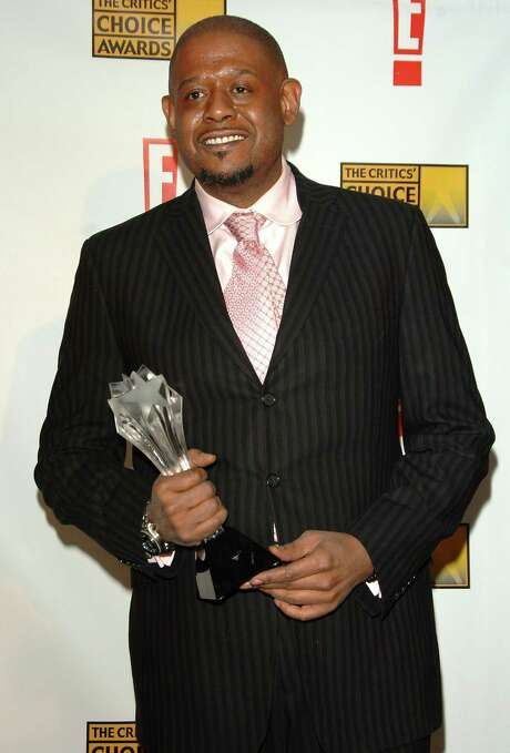 "juliecooper SANTA MONICA, CA - JANUARY 12:  Actor Forest Whitaker poses with his award for Best Actor for ""The Lask King of Scotland""  in the press room at the 12th Annual Critics' Choice Awards held at the Santa Monica Civic Auditorium on January 12, 2007 in Santa Monica, California. Photo: Stephen Shugerman, Getty Images / 2007 Getty Images"