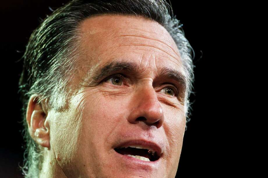 2012: Mitt Romney, Republican | Read the endorsement Photo: Michael Paulsen, Houston Chronicle / © 2012 Houston Chronicle