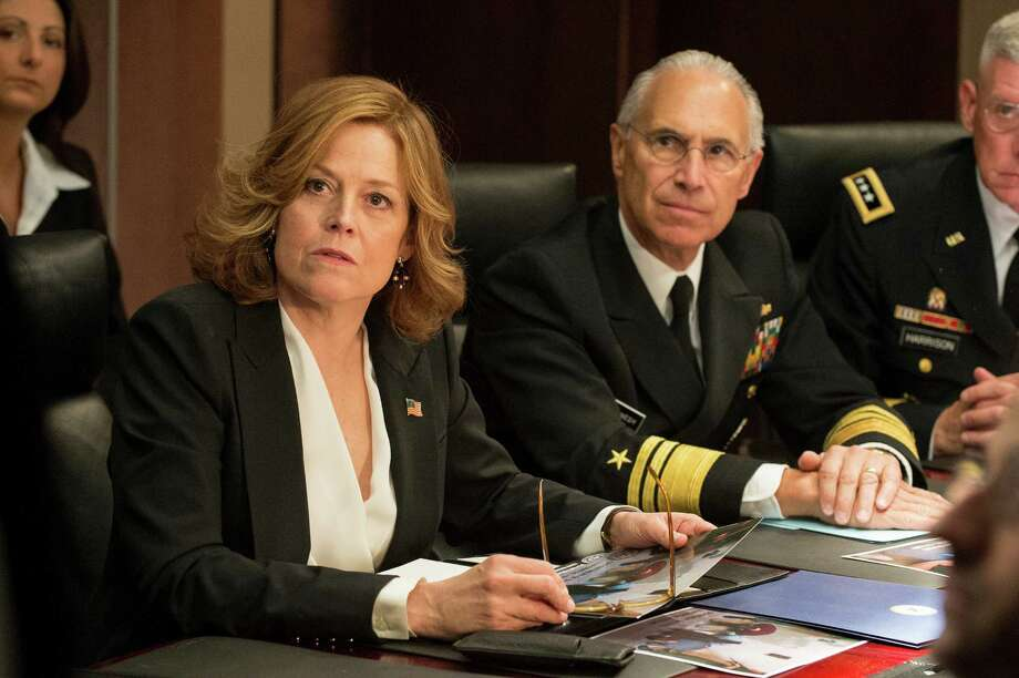 Sigourney Weaver's turn as Secretary of State Elaine Barrish bears more than a few similarities to Hillary Rodham Clinton. Photo: David Giesbrecht / ONLINE_YES