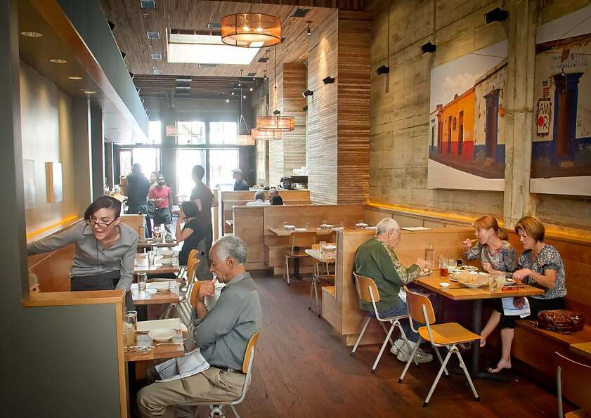 Comal's sophisticated, well-designed interior signals that patrons are in for a special meal.