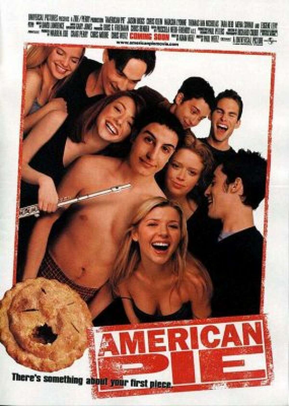 American Pie (1999) | American Pie 2 (2001) | American Pie Presents: Band Camp (2005) Available on Netflix Feb. 1Four teenage boys enter a pact to lose their virginity by prom night.