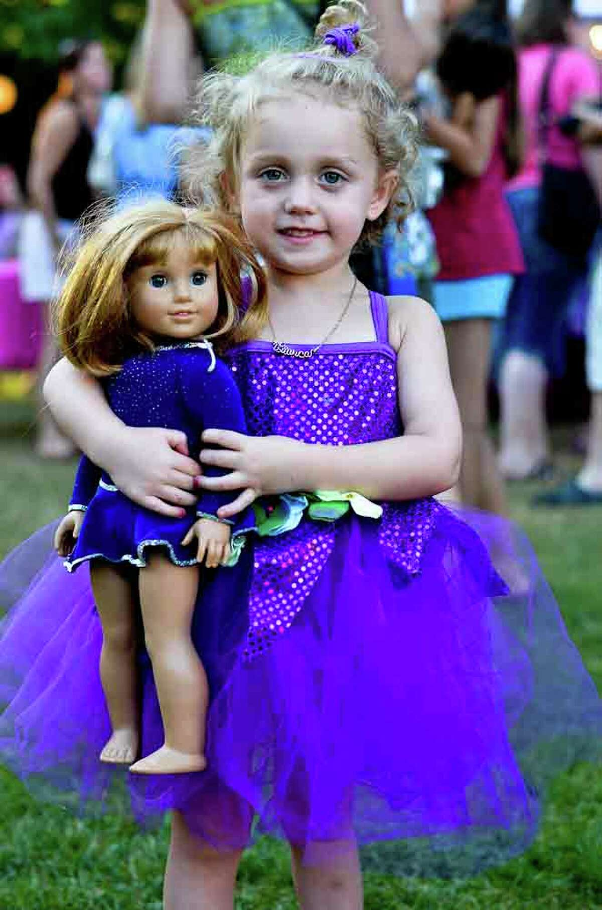 Were you Seen at American Girl Night at the New York City Ballet's performance at SPAC on Wednesday, July 11, 2012?