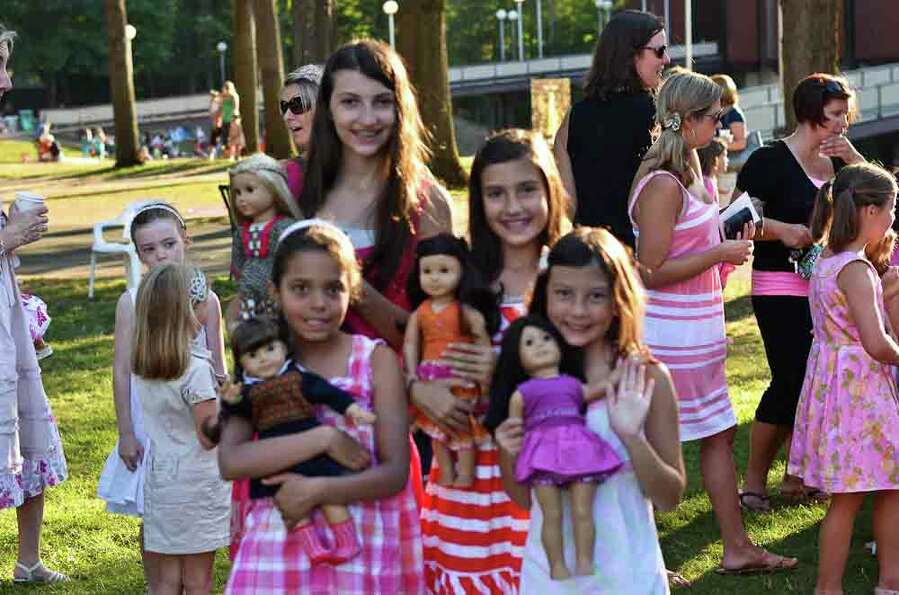 Were you Seen at American Girl Night at the New York City Ballet's performance at SPAC on Wednesday,