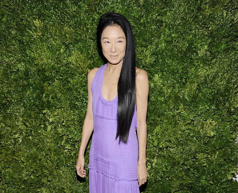 "FILE - This Nov. 14, 2011 file photo shows fashion designer Vera Wang attending the CFDA / Vogue Fashion Fund Awards in New York. Wang, who launched her label with wedding gowns, is separating from her husband Arthur Becker. A statement was issued to Women's Wear Daily earlier this week from company president Mario Grauso that said Wang and Becker ""mutually and amicably agreed to separate.""  The couple married in 1989, when she still worked for Ralph Lauren. They have two daughters.  (AP Photo/Evan Agostini, file) Photo: Evan Agostini"