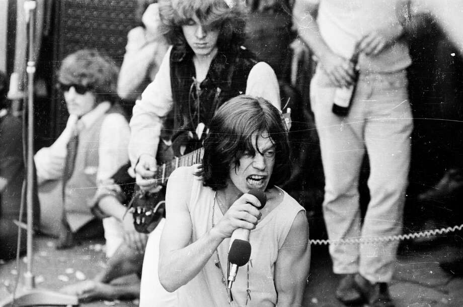 More from the Hyde Park concert.  Photo: Reg Burkett, Getty / Hulton Archive