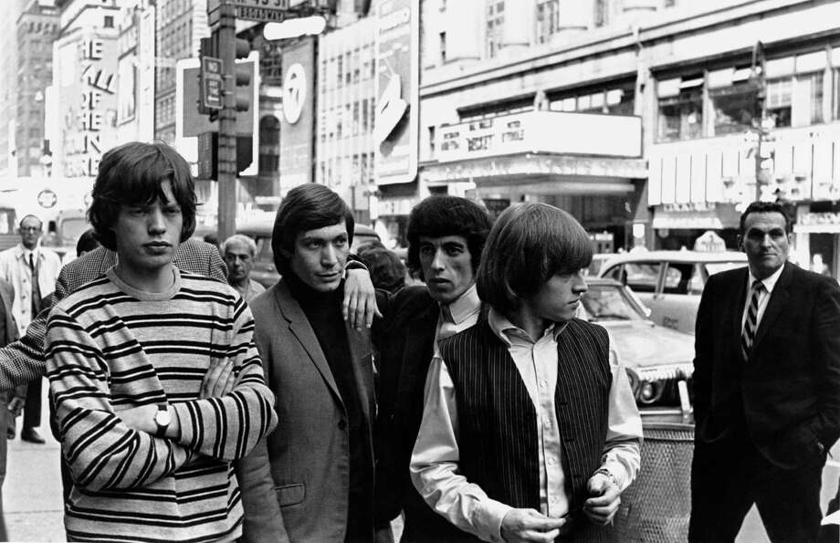 Ah, but then the The Rolling Stones went to New York, and the ties were history. In June 1964, left to right: Mick Jagger, Charlie Watts, Bill Wyman and Brian Jones (1942 - 1969). Photo: William Lovelace, Getty / 2011 Getty Images
