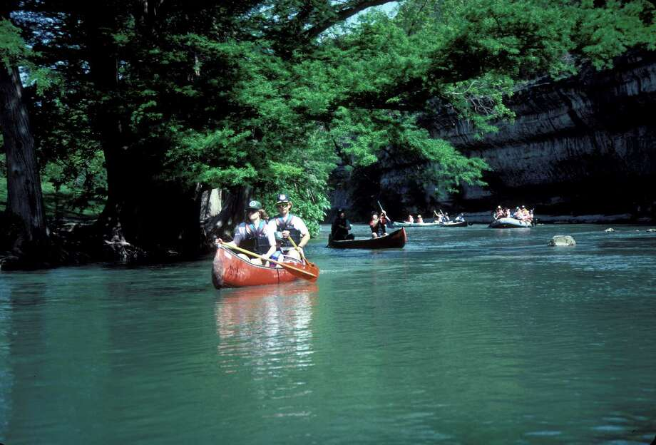 Guadalupe River State Park offers the splendid backdrop of limestone cliffs, shady cypress trees and a wealth of water recreation. Photo: COURTESY / TEXAS PARKS AND WILDLIFE DEPARTMENT