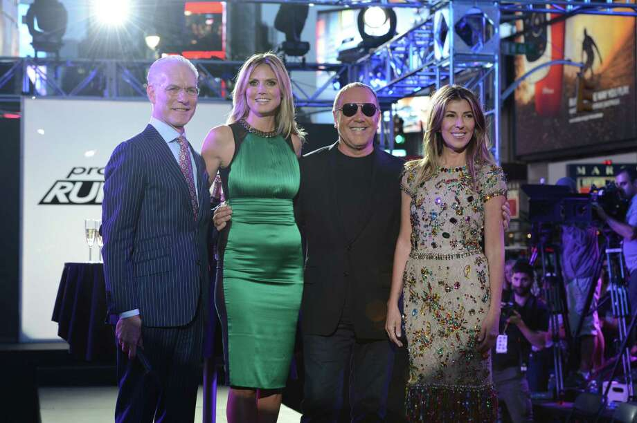 'Project Runway' remains relatively unchanged as it kicks off its 10th year with Tim Gunn, Heidi Klum, Michael Kors and Nina Garcia checking out the creations of talented designers from around the globe. Photo: Lifetime