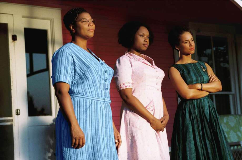 "In this image released by Fox Searchlight Pictures, Queen Latifah, left, Jennifer Hudson, center, and Alicia Keys are shown in a scene from ""The Secret Life of Bees.""  (AP Photo/Fox Searchlight Pictures, Sidney Baldwin) ** NO SALES ** Photo: Sidney Baldwin / Fox Searchlight"