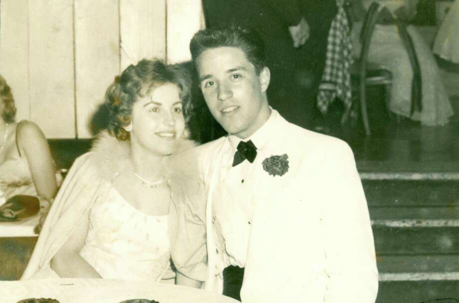 Marilyn Niesz and Paul Caravetta attending Paul's senior prom together in 1960. They both attended Roosevelt High School in Yonkers, N.Y. Photo: Contributed Photo
