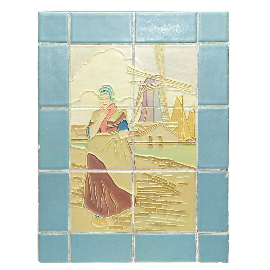 This scene, made of 20 tiles, was part of the wall in a restaurant in Ohio. It sold at auction for $1,200 a few years ago at the former Auctions at Rookwood, now called Humler & Nolan, in Cincinnati. Photo: Contributed Photo