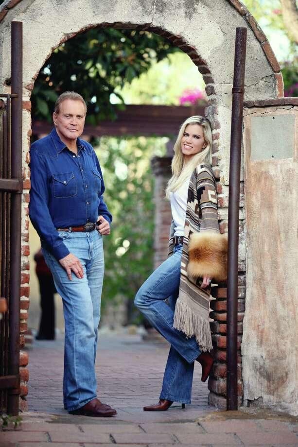 Lee Majors with his wife Faith Photo: Courtesy Of Lee Majors