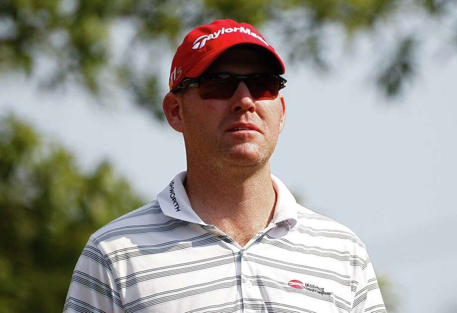 SILVIS, IL - JULY 12:  Troy Matteson looks on during the first round of the John Deere Classic held at TPC Deere Run on July 12, 2012 in Silvis, Illinois.  (Photo by Michael Cohen/Getty Images) Photo: Michael Cohen / 2012 Getty Images