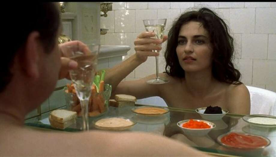 """Gloomy Sunday"" -- one of the best films of the 1990s, starring Joachim Krol and Erika Marozsan.  They're seconds away from getting rid of that tray."
