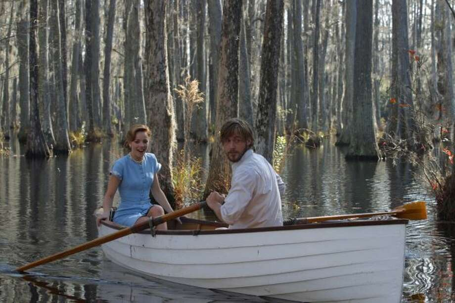 "Rachel McAdams and Ryan Gosling h in ""The Notebook.""  (New Line Productions / AP)"