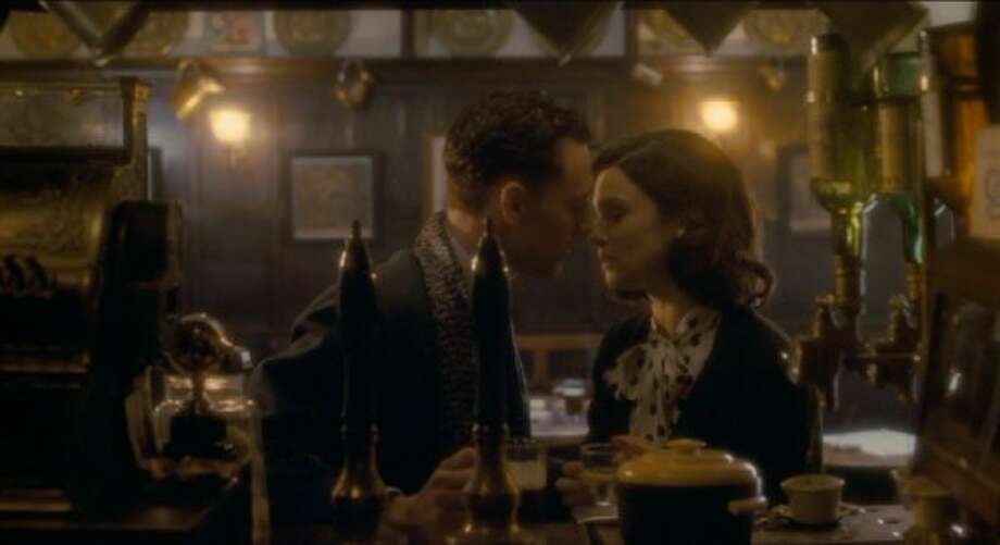 """""""The Deep Blue Sea"""" -- with Rachel Weisz and Tom Hiddleston in the pub scene.  One of the best films of 2012, so far. (Mark J. Terrill / ONLINE_YES)"""
