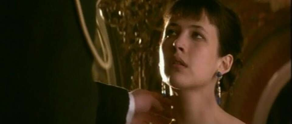Sophie Marceau welcoming what is just about to happen in ANNA KARENINA.  (HO / REUTERS)