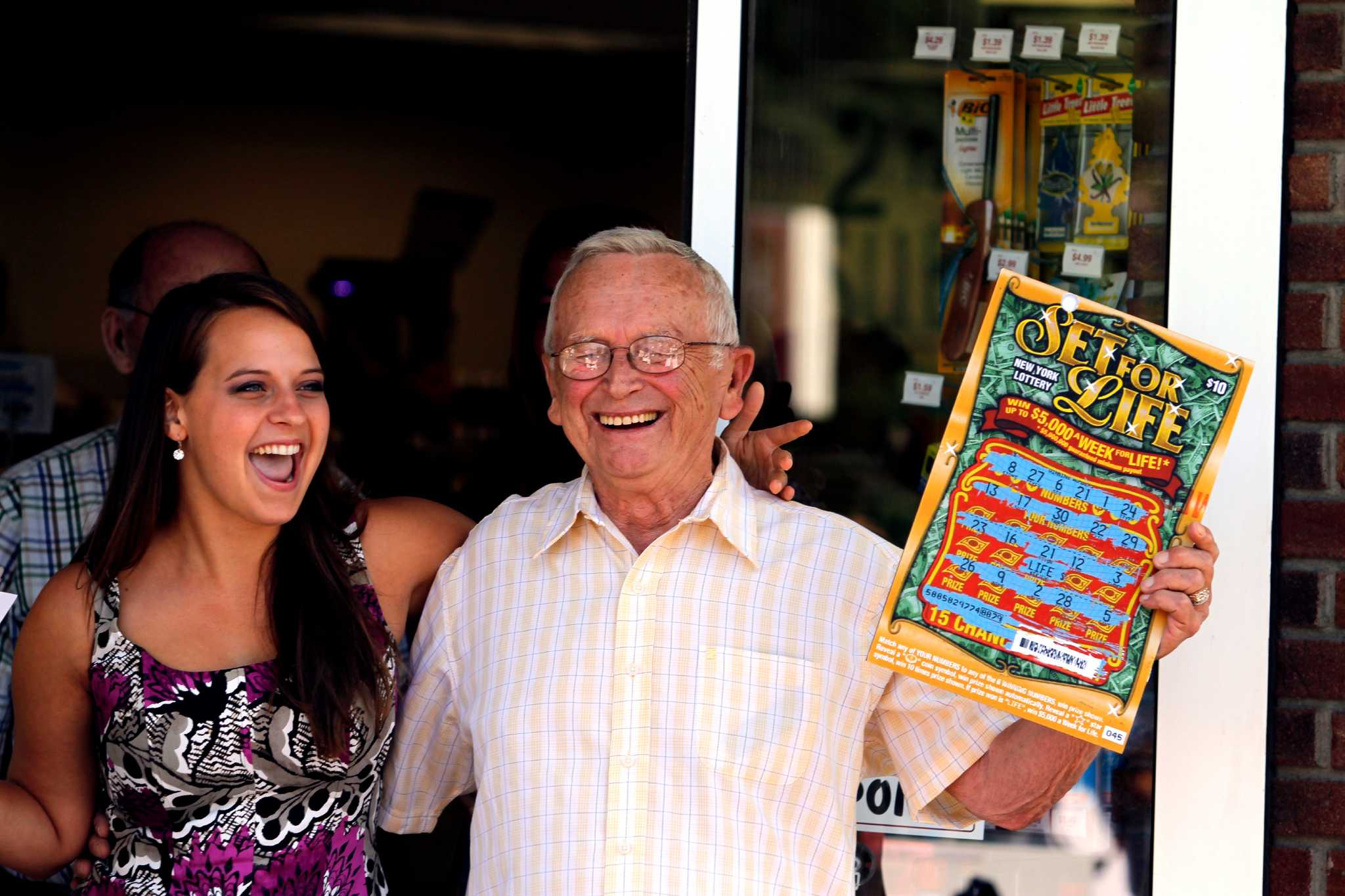 To celebrate the celebration: funny wedding lotteries