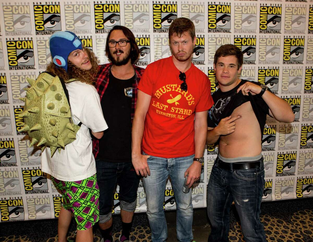 """5. Workaholics This raunchy Comedy Central show follows a group of friends and coworkers who want to do anything but work. The Boston Globe has called all three seasons of the show """"joyously juvenile."""""""