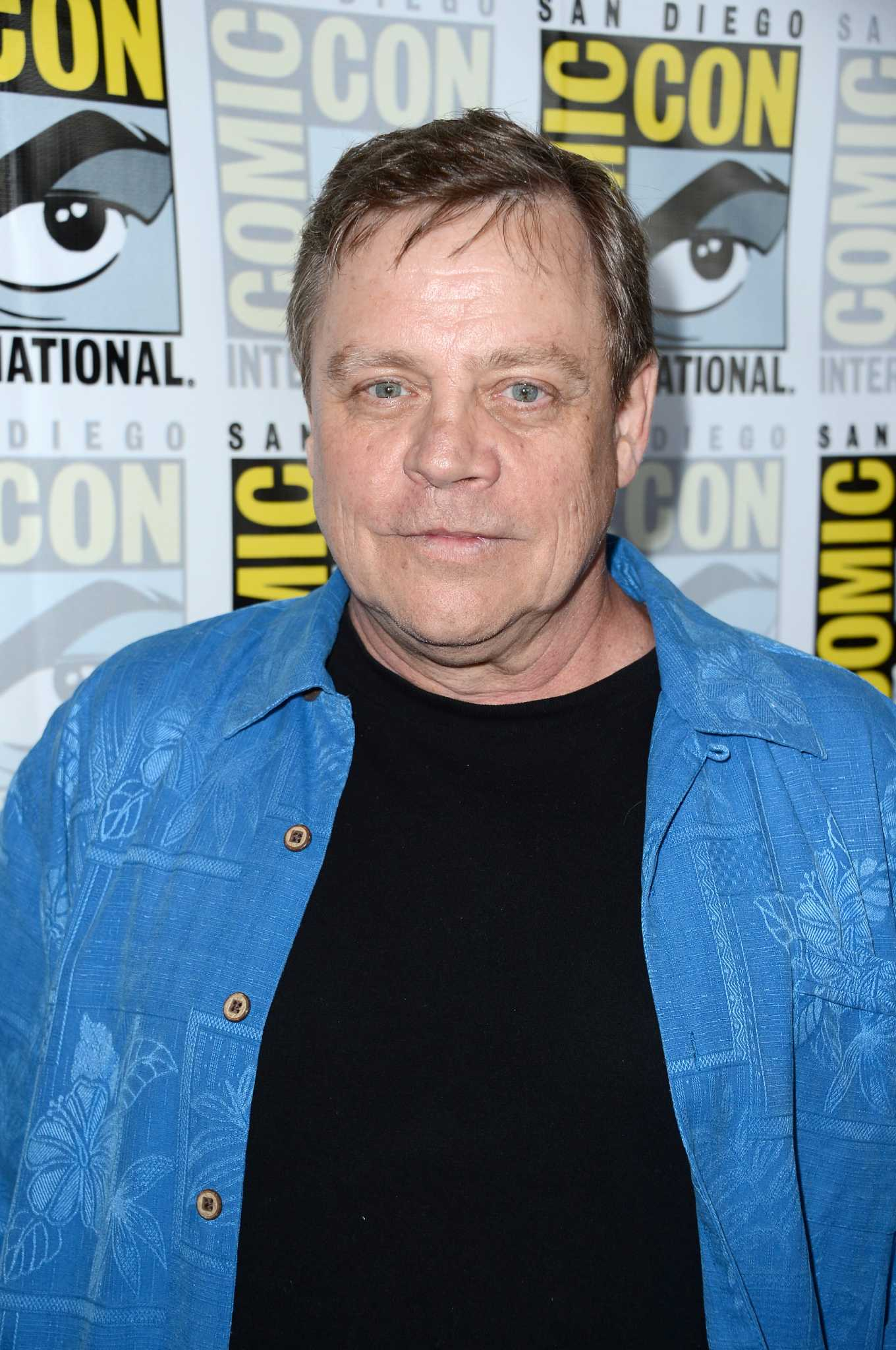 Star Wars The Force Awakens Star Mark Hamill Shows Off