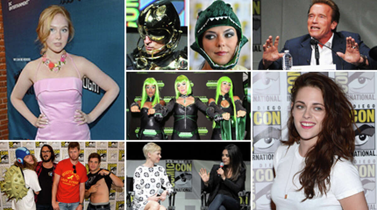 The stars have arrived at San Diego's Comic-Con International, the world's largest celebration of nerdism.