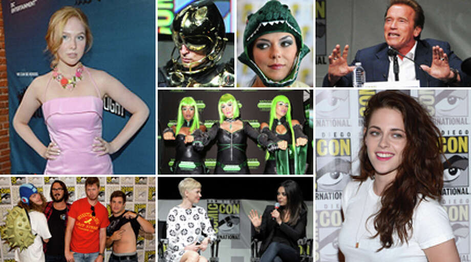 The stars have arrived at San Diego's Comic-Con International, the world's largest celebration of nerdism. Photo: Getty Images