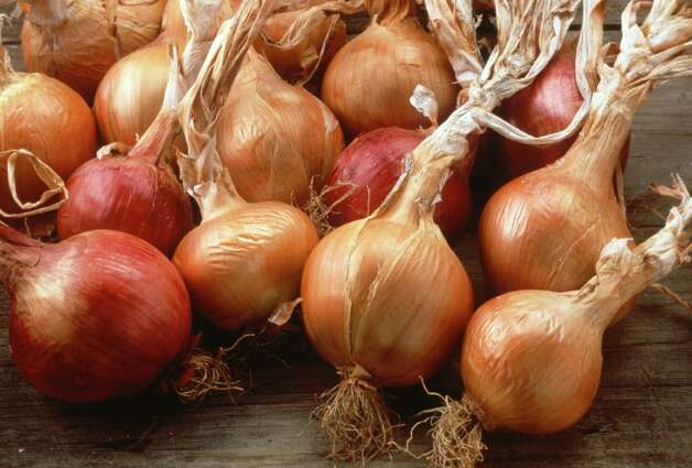 Onions Photo: National Garden Bureau