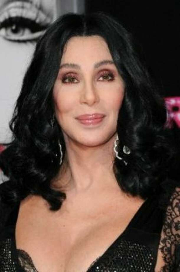 Cher's velvet strapless bra,