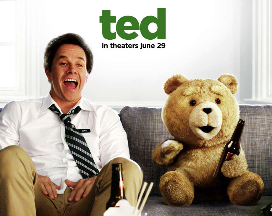 """Ted,"" the movie comedy starring Mark Wahlberg and a stuffed bear, is playing in area theaters. Photo: Contributed Photo / Westport News contributed"