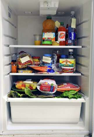 Refrigerator for illustration on Wednesday, July 11, 2012 in Albany, N.Y. (Lori Van Buren / Times Union) Photo: Lori Van Buren