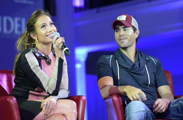 Jennifer Lopez and Enrique Iglesias perform at Mohegan Sun Arena on Thursday, July 26. Photo: Jason Merritt, Getty Images For Atlantico Rum / 2012 Getty Images