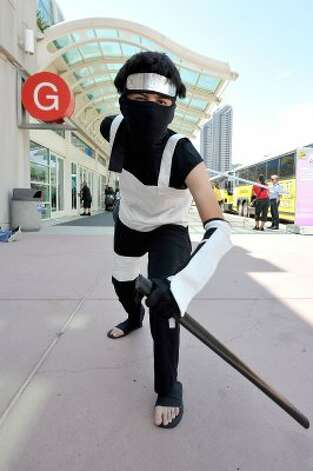 SAN DIEGO, CA - JULY 11:  Everett Reyna dresses up for 2012 Comic-Con at the San Diego Convention Center on July 11, 2012 in San Diego, California.  (Photo by Jerod Harris/Getty Images) (Getty Images)