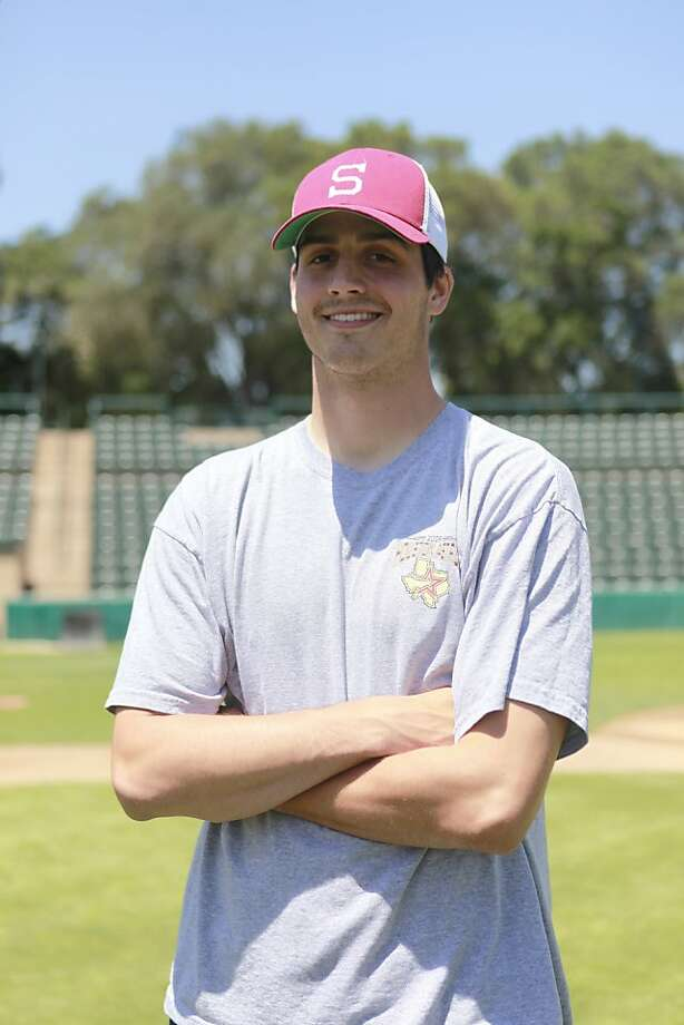 Ace pitcher Mark Appel, the possible number 1 pick in the June draft, at the Sunken Diamond Baseball Field in Stanford, Calif. Thursday, May 10th, 2012. Photo: Jill Schneider, The Chronicle