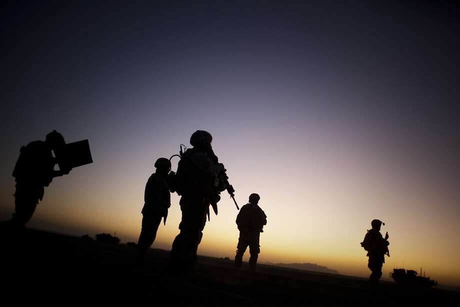 It's estimated that 13 to 20 percent of the 2.6 million service members deployed to Afghanistan and Iraq have post-traumatic stress disorder symptoms. Photo: Emilio Morenatti, Associated Press