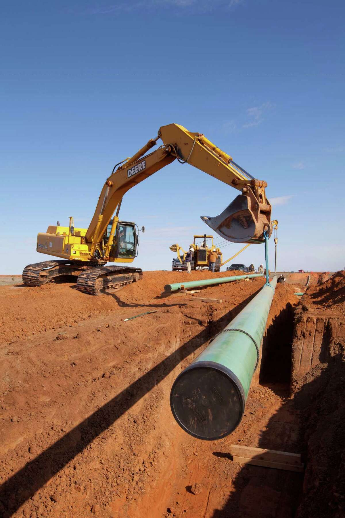 The Railroad Commission can grant eminent domain powers to pipeline companies that claim to be common carriers.
