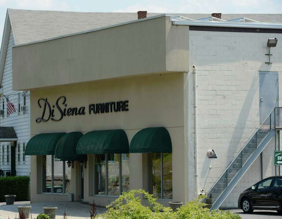 Exterior View Of The DiSiena Furniture Store On Round Lake Avenue In  Mechanicville, N.Y. July