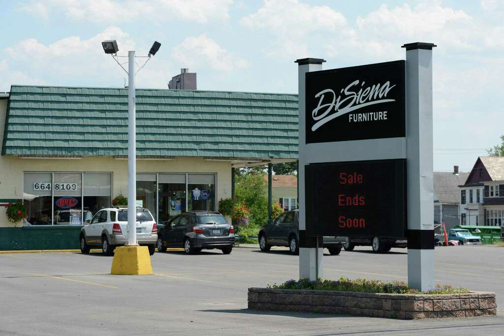 Superb Exterior View Of The DiSiena Furniture Store On Central Avenue In  Mechanicville, N.Y. July 12